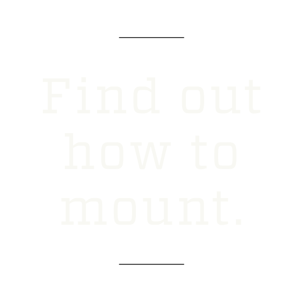 How to mount